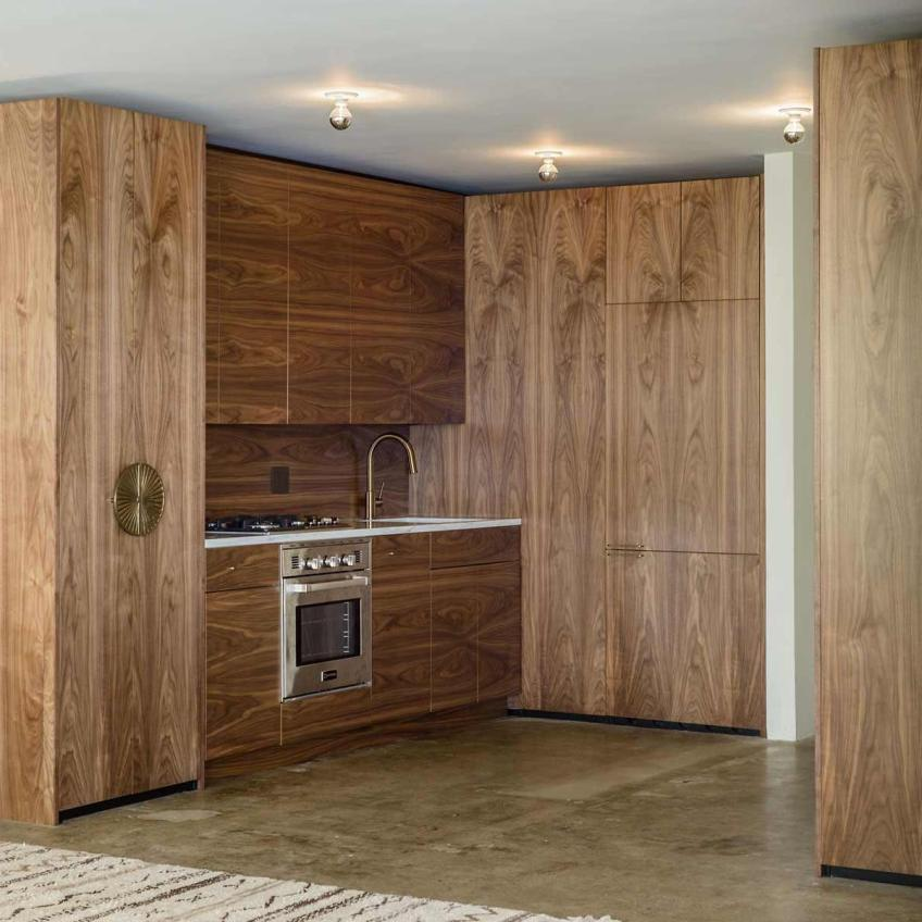 Semihandmade Walnut IKEA Kitchen