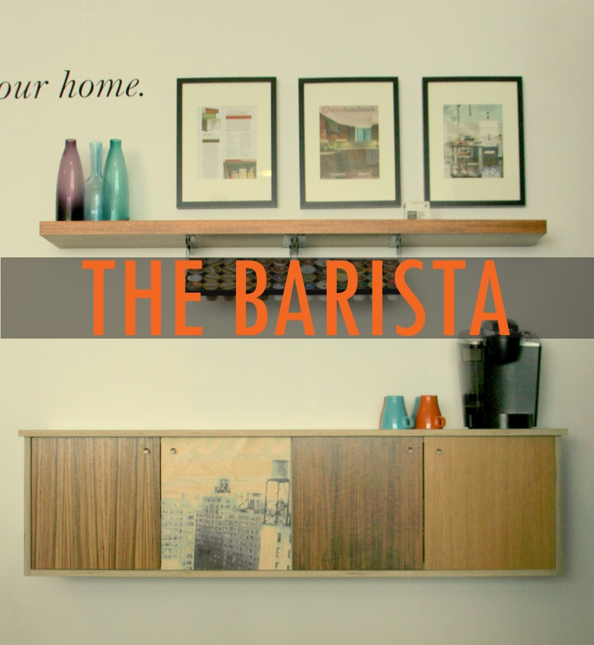 Semihandmade Redo Barista IKEA Cabinet