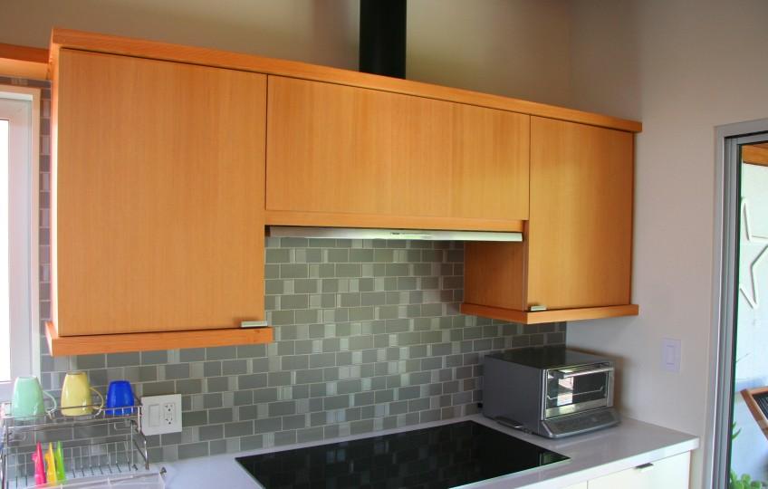 Semihandmade Doug Fir IKEA Cabinets