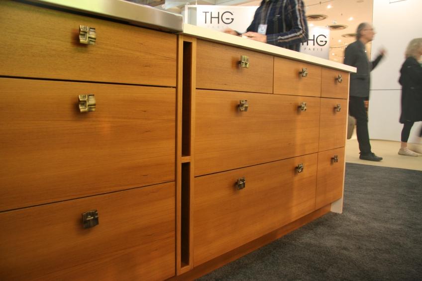Semihandmade Rift Teak IKEA Cabinets