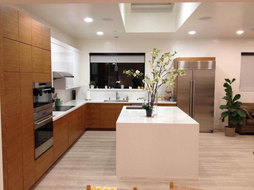 Semihandmade Rift Teak/Abstrakt IKEA Kitchen