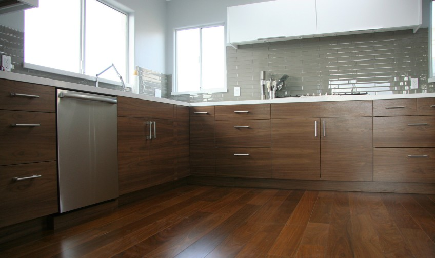 Semihandmade Walnut/Abstrakt IKEA Kitchen