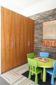 Semihandmade Flatsawn Teak Pax Closets