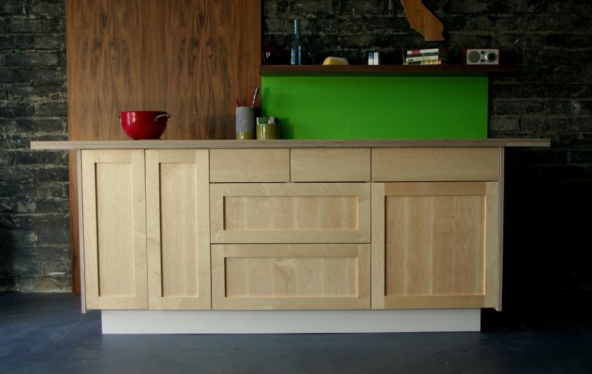 Semihandmade Maple Shaker IKEA Cabinets