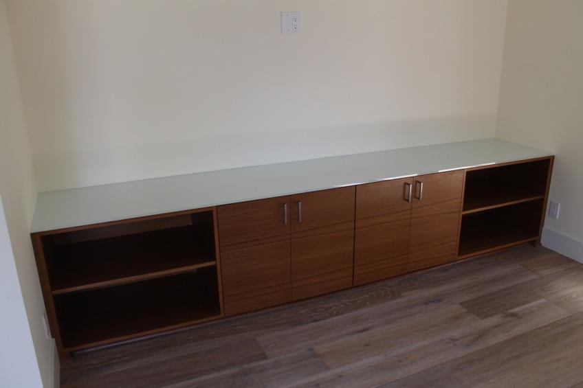 Semihandmade Rift Walnut IKEA Media Cabinets