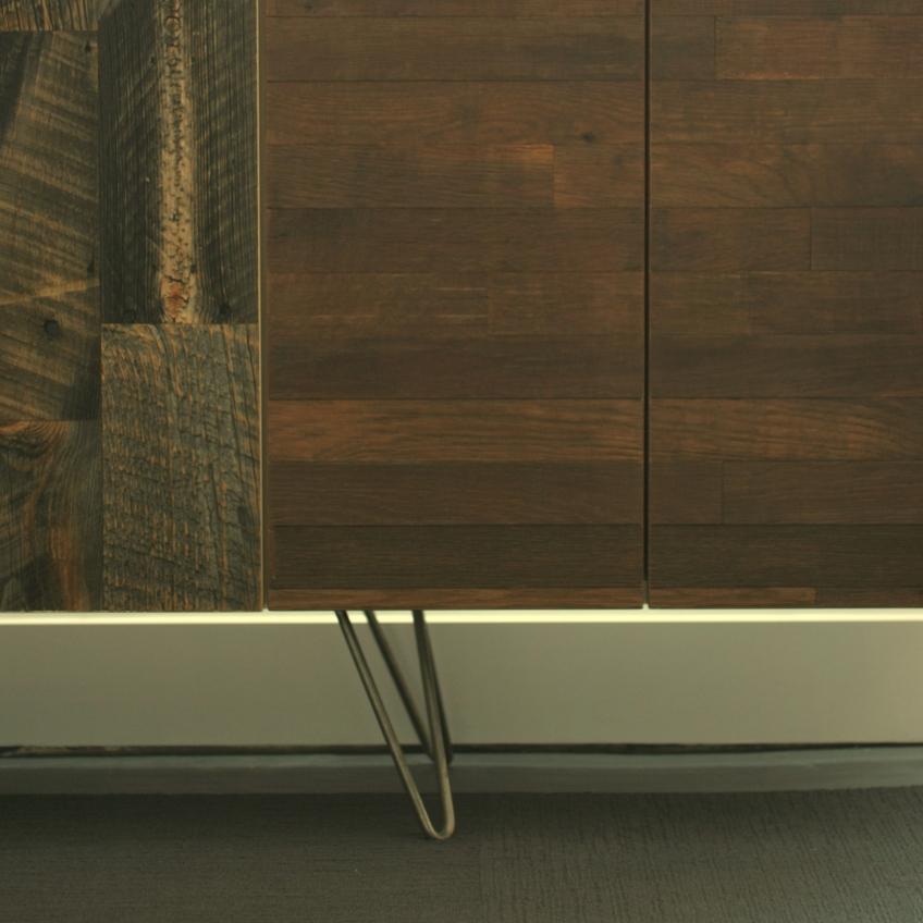 Semihandmade Wine Barrel/Barn Lumber Doors