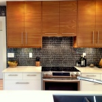 Semihandmade Flatsawn Teak IKEA Kitchen